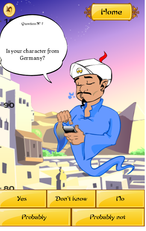 Akinator the Genie FREE - screenshot
