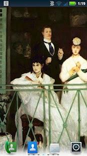 Édouard Manet Live Wallpaper - screenshot thumbnail