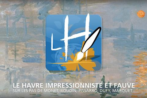 Impressionism art in Le Havre