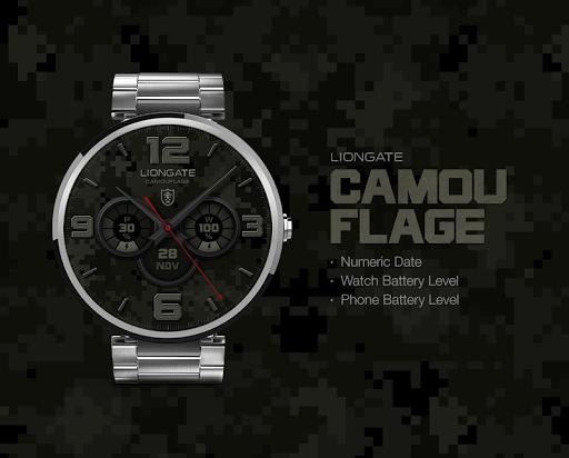 Camouflage watchface by Lionga