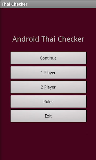 Thai Checkers