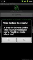 Screenshot of APNsBU