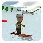 Ski Sim: Cartoon icon