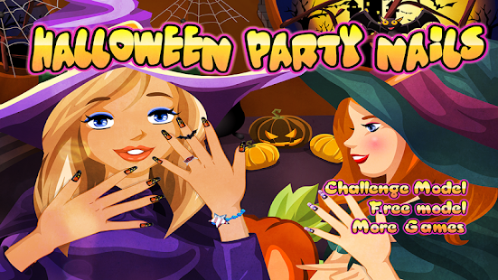 Halloween Nails – Nail Game- screenshot thumbnail