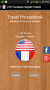 Translator English French Lite