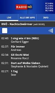 ORF Radio Niederösterreich- screenshot thumbnail