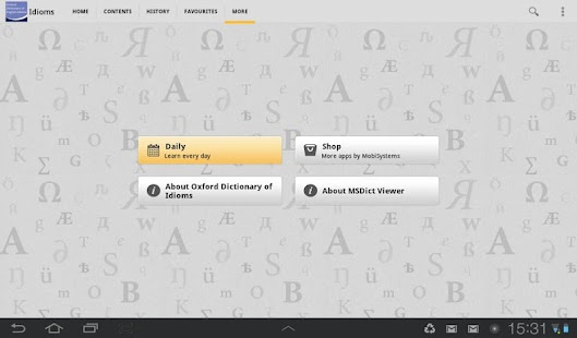 Oxford Dictionary of Idioms|玩書籍App免費|玩APPs