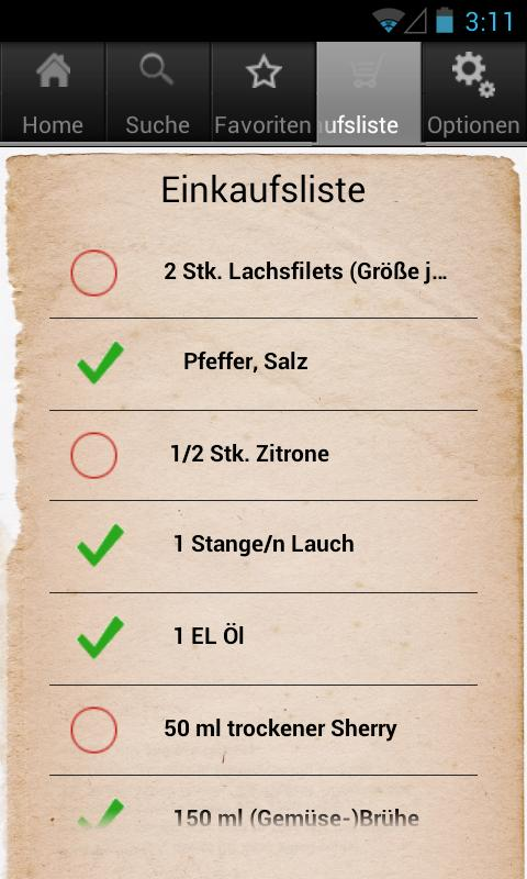 Kochmeister 60.000 Rezepte - screenshot