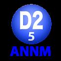 D2のオールナイトニッポンモバイル2013 第5回 logo