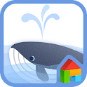 whale day dodol theme icon