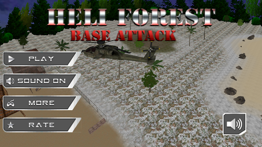 Heli Forest Base Attack