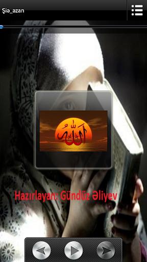 Azan Azeri Ezan