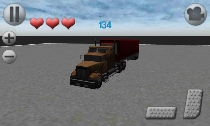3D Truck Parking- screenshot