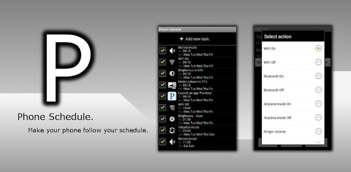 Phone Schedule APK v1.4.006