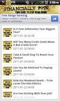 Screenshot of Financially Poor