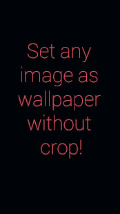 Are You Tired Of Seeing The Default Cropper Appear Then This App Is For Simple Android To Set Any Image As Your Wallpaper Without Using