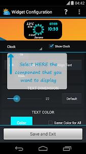 FancyClock Widget Pro v1.5