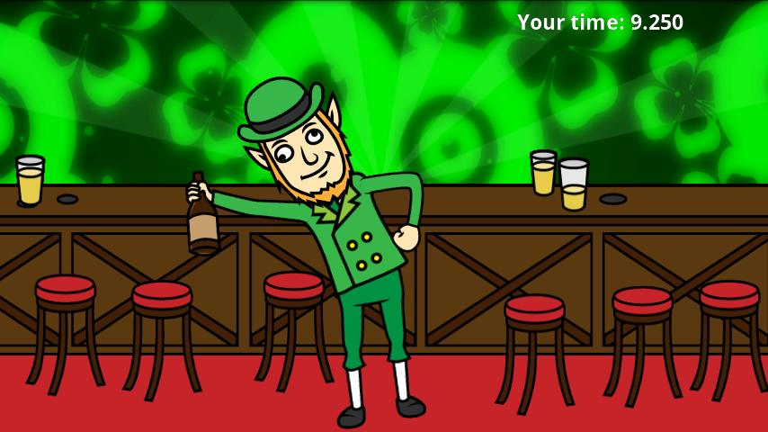 St Patrick's Day: Drunk Lep - screenshot
