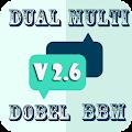 Download New Dual Multi Dobel BBM 2.6.0 APK