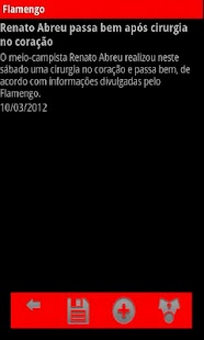 Noticias do Flamengo - screenshot thumbnail