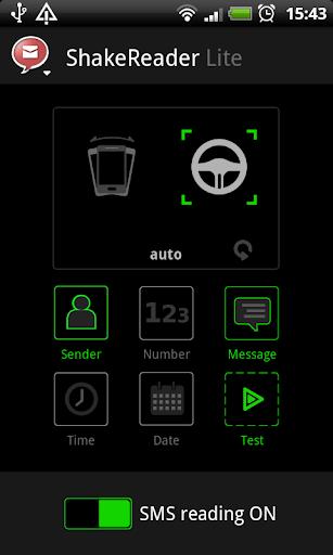 Shake Reader Lite [SMS reader]