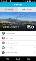 Screenshot of Rio Official Guide