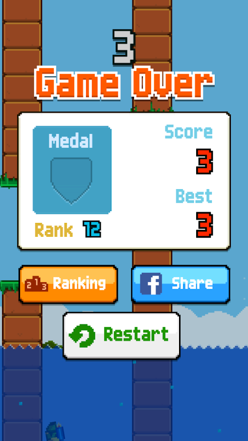 Jumpy Jetpack - screenshot