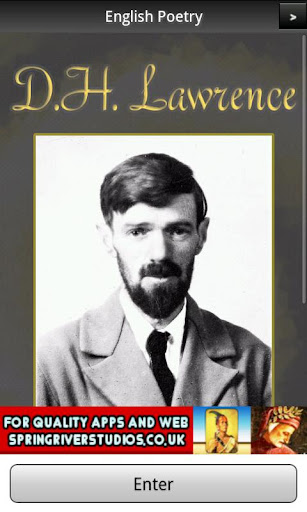 D. H. Lawrence Poems FREE