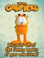 Screenshot of Talking Garfield Free