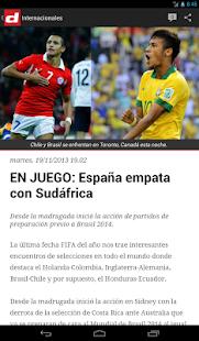 Diario Diez Honduras - screenshot thumbnail