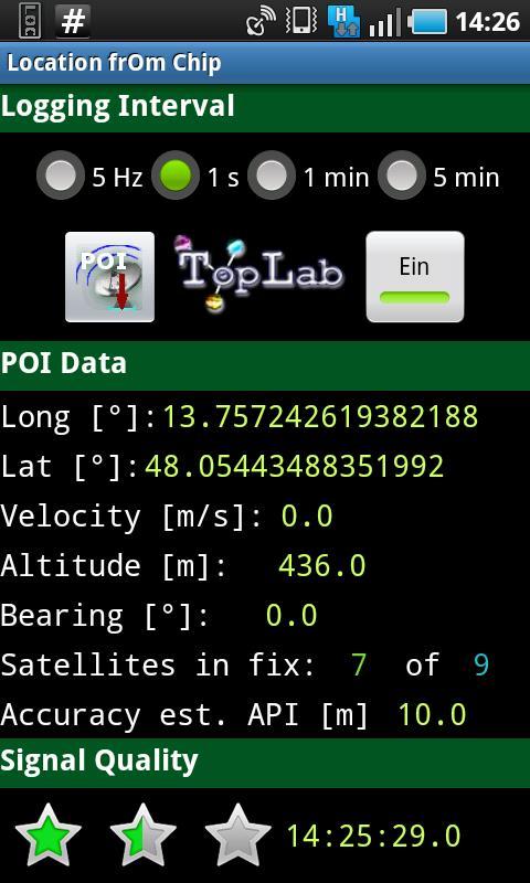 Location frOm Chip - LoC PRO- screenshot