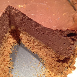 Milk Chocolate Protein Cheesecake.