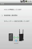 Screenshot of AOSS