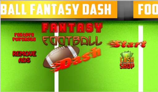FOOTBALL FANTASY DASH