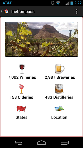 theCompass Winery Brewery App