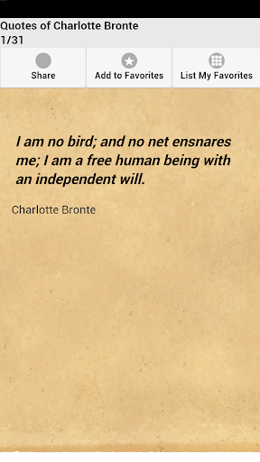 Quotes of Charlotte Bronte