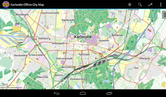 Karlsruhe Offline City Map Apps on Google Play