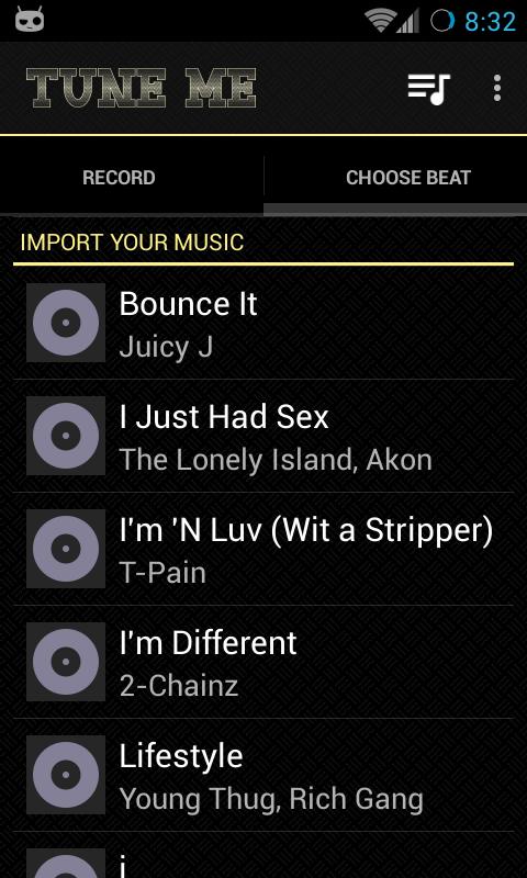 Tune Me Pro ★ Key- screenshot