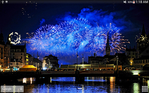 Fireworks Live Wallpaper 2018 1.2.1 screenshots 19