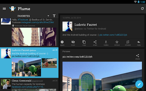 Plume for Twitter - screenshot thumbnail