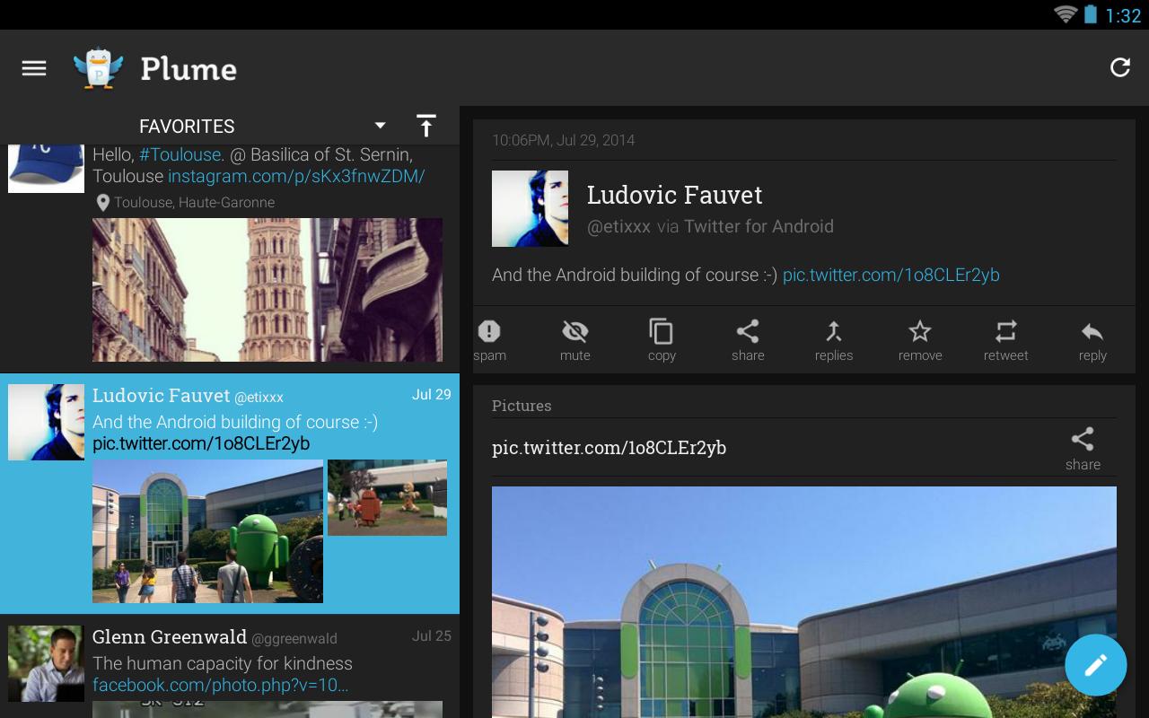 Plume for Twitter screenshot #11