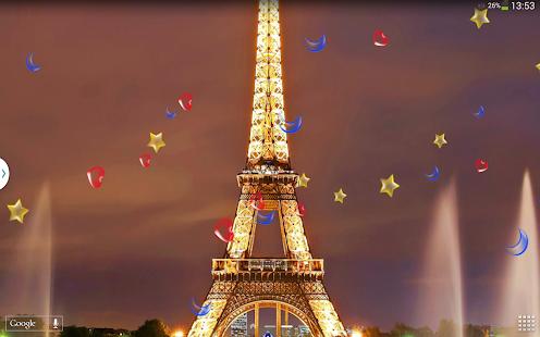 玩個人化App|午夜巴黎 動態桌布免費|APP試玩