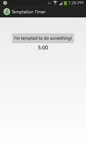 Temptation Timer