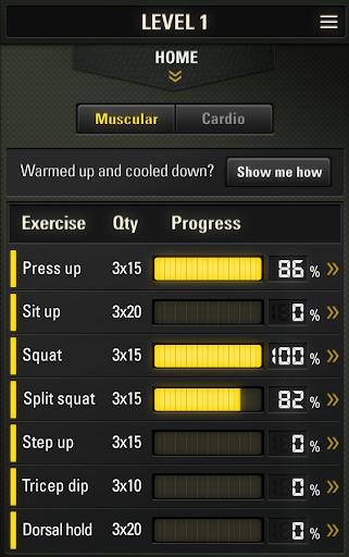 100% Army Fit  screenshots 6
