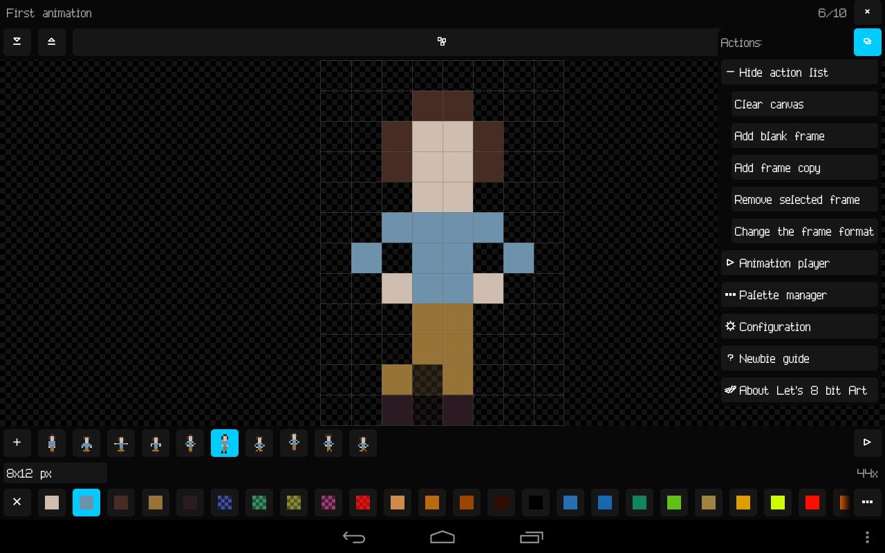 8 bit pixel art software