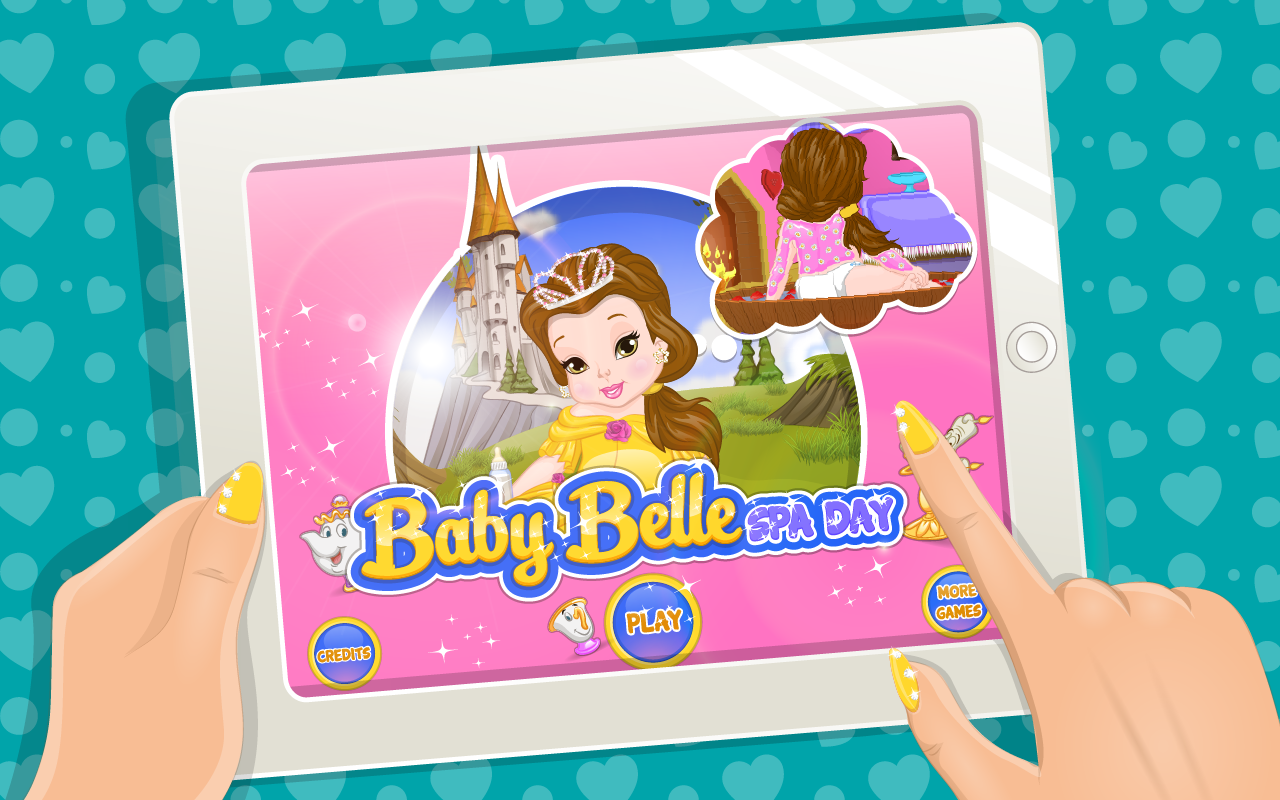 Baby Belle Spa Day- screenshot