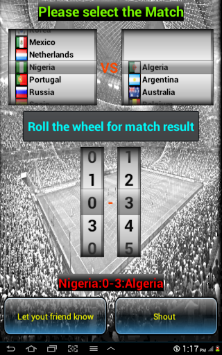 Goal Slot Game For Worldcup 14