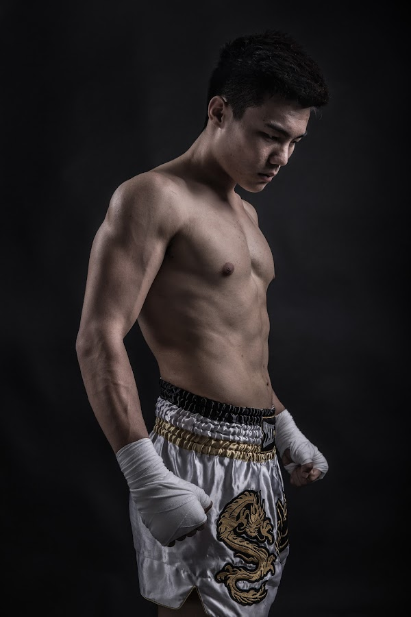 Fighter by Mor Wei Huat - Sports & Fitness Fitness ( canon, fitness, train, portrait, man )
