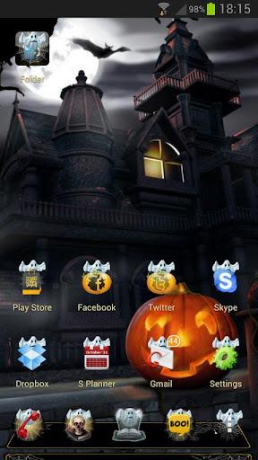 Next Launcher Halloween Theme