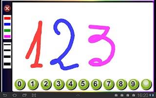 Screenshot of Traza los números
